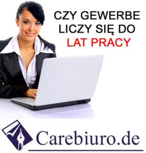 Firma jednoosobowa w Niemczech ubezpieczenie carebiuro.de